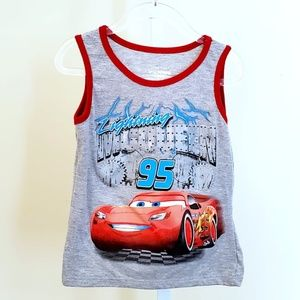 Cars | Lightning McQueen | Tank Top | NWOT